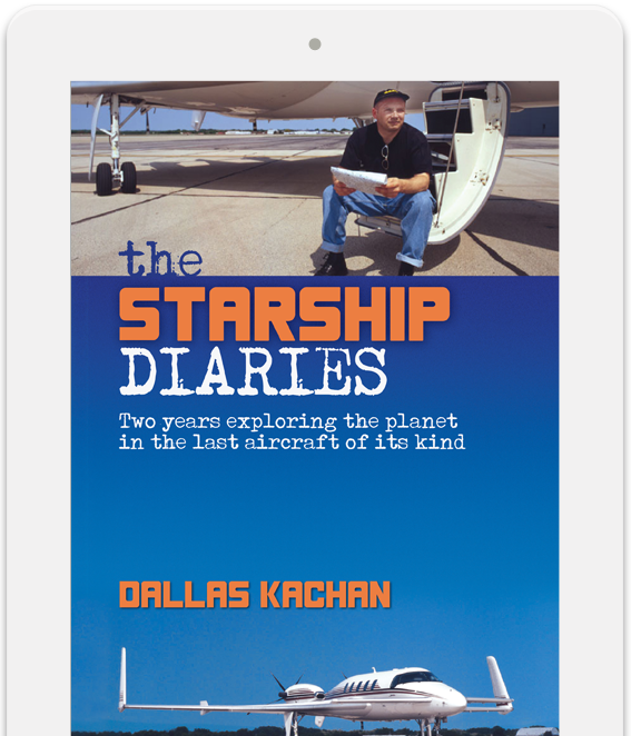 The Starship Diaries - A Beechcraft Starship adventure