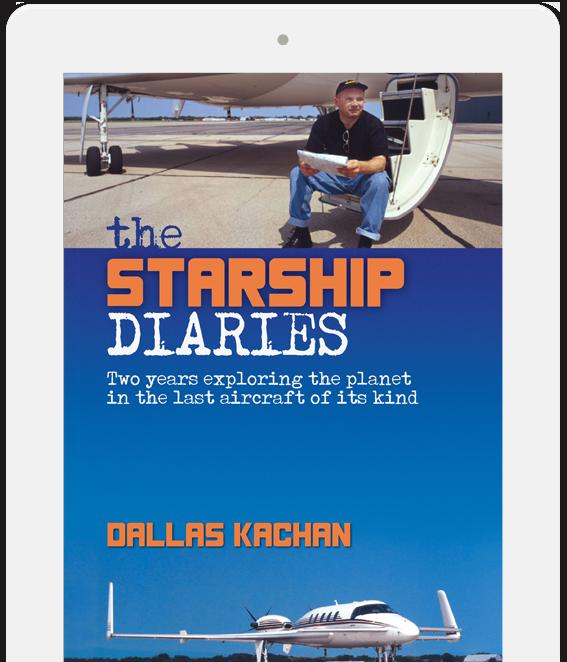 The Starship Diaries - A Beechcraft Starship adventure